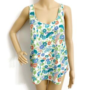 French Connection Floral Tank Top B14-747